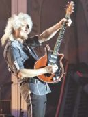 Brian May, Queen, Sweden Rock Festival 2016